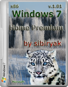Windows 7 Home Premium by sibiryak v. 1. 01 (x 86) (3.11.2013) �������