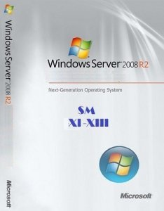 Microsoft Windows Server 2008 R2 x64 SM XI-XIII (4 in 1) by Lopatkin (2013) Русский