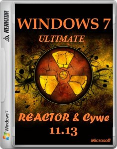 Windows 7 Ultimate x64 by Reactor & Cywe v.11.13 (2013) Русский