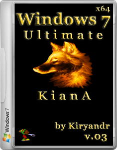 Windows 7 Ultimate SP1 KianA [v.03] by kiryandr (x64) [2013] Русский
