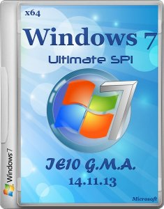 Windows 7 ultimate SP1 IE11 G.M.A. 14.11.13 (x64) [2013] Русский
