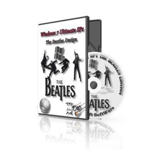 Windows 7 Ultimate SP1 x64 The Beatles Design StartSoft 60 61 (2013) Русский