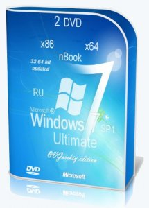 Windows 7 Ultimate Ru x86/x64 nBook IE11 by OVGorskiy® 11.2013 2 DVD (2013) Русский
