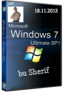 Windows 7 SP1 Ultimate by Sherif v.02 (x86) (2013) Русский