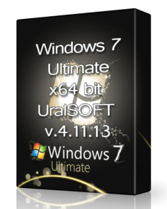 Windows 7 x64 Ultimate UralSOFT v.4.11.13 (x64) (2013) Русский