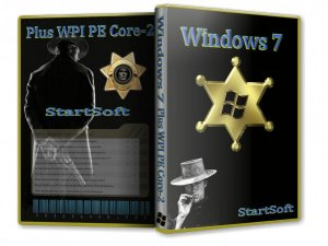 Windows 7 SP1 x86 x64 Plus PE WPI StartSoft 62 63 64 (2013) Русский