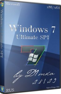 Windows 7 Ultimate SP1 by D1mka v1.8/v1.9 (x64/x86) (2013) �������