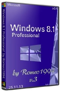 Windows 8.1 Professional (x64) v.3 by Romeo1994 (2013) Русский
