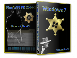 Windows 7 SP1 x86 x64 Plus PE StartSoft 70 (2013) Русский