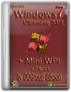 Windows 7 Ultimate SP1 (x86-x64) + Mini WPI by DDGroup™
