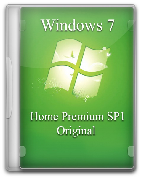 Windows 7 Home Premium SP1 Original by A.L.E.X (2013)