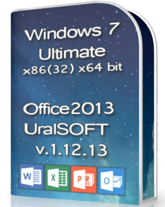 Windows 7 x86x64 Ultimate & Office2013 UralSOFT v.1.12.13