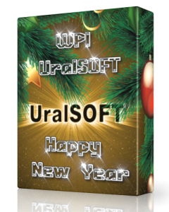 WPI UralSOFT Happy New Year (х86/х64) (2013) Русский