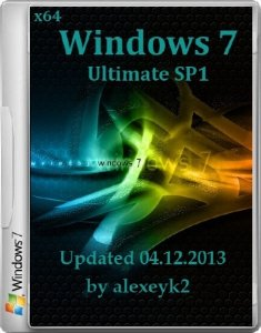 Windows 7 x64 Ultimate SP1 Updated 04.12.2013 by alexeyk2 (2013) �������