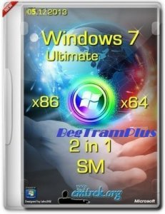 Microsoft Windows 7 Ultimate SP1 х86-x64 RU XI-XIII BegTram Plus by Lopatkin (2013) Русский