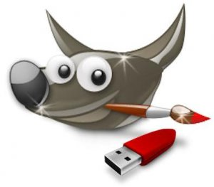 GIMP 2.8.10 Final Portable by PortableAppZ [Multi/Ru]
