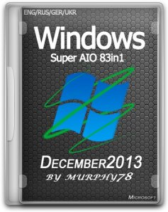 Windows Super AIO 83in1 v.3 x86/x64 December 2013 (ENG/RUS/GER/UKR)