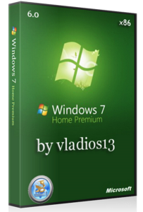 Windows 7 Home Premium SP1 x86 [v. 6.0] by vladios13 (2013) Русский