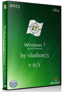 Windows 7 Home Premium SP1 x64 [v.6.1] by vladios13 (2013) Русский
