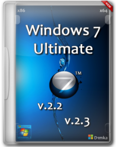 Windows 7 Ultimate SP1 by D1mka v.2.2 - v.2.3 (32bit+64bit) (2013) Русский