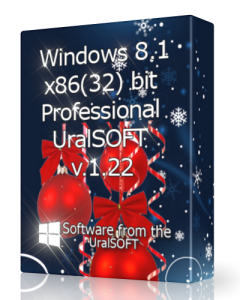 Windows 8.1 Pro UralSOFT v.1.22 (x86) [2013] Русский