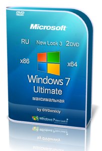 Microsoft Windows 7 Ultimate Ru x86-x64 SP1 NL3 by OVGorskiy® 12.2013 2 DVD (2013) Русский