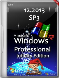 Windows XP Professional Service Pack 3 x86 Infinity Edition 12.2013 (Русский)