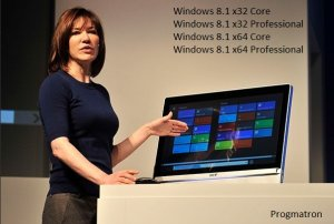 Windows 8.1 Core/Professional x86/x64 6.3 9600 MSDN v.0.5.3 PROGMATRON (2013) Русский