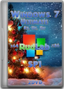 Windows 7 Ultimate SP1 x64-x86 IE10 by RudLab v.4 (2013) [Ru, En, Uk]