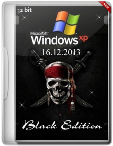 Windows XP Professional SP3 Black Edition (16.12.2013) (x86) [2013] [ENG + RUS]