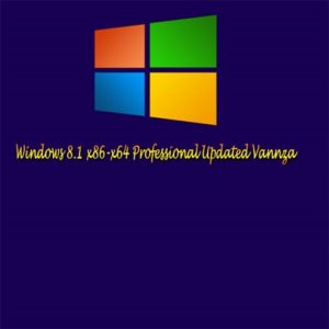 Windows 8.1 Professional Updated Vannza (x86-x64) (2013) Русский
