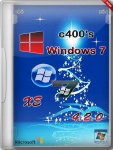 c400's Windows 7 XE v.4.2.0 (х86/х64) (2013) [RUS/ENG]