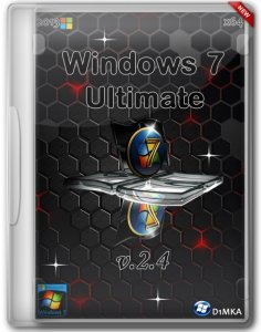 Windows 7 Ultimate SP1 x64 v.2.4 by D1mka (2013) Русский