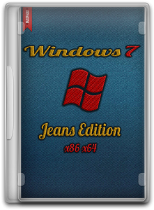 Windows 7 Ultimate SP1 Jeans Edition (x86/x64) (2013) Русский