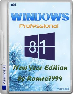 Windows 8.1 Professional x64 New Year Edition by Romeo1994 (2013) Русский