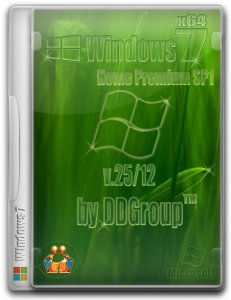 Windows 7 Home Premium SP1 x64 [v.25.12] by DDGroup™ (2013) Русский