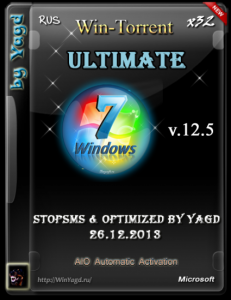 Windows 7 Ultimate StopSMS Optimized by Yagd AIO v.12.5 (x32) [26.12.2013] �������