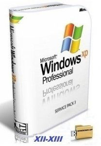 Microsoft Windows XP Professional 32 bit SP3 VL RU SATA AHCI XII-XIII by Lopatkin (2013) Русский