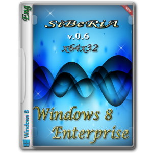 Windows 8 Enterprise (x64x32) SiBeRiA v.0.6 (2014) Английский
