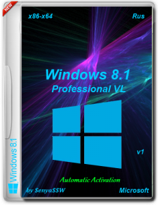 Windows 8.1 Professional VL (x86-x64) by SenyaSSW v.1 [04.01.2014] Русский
