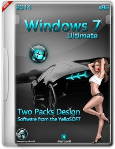 Windows 7 SP1 Ultimate by YelloSOFT (x86) (2014) Русский