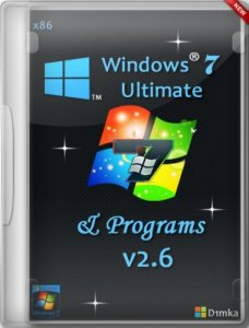 Windows 7 Ultimate SP1 & Programs v.2.6 by D1mka (32bit) (2014) Русский