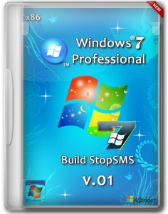 Windows 7 SP1 Professional Build StopSMS x86 by X@nder [v.1] (2014) Русский