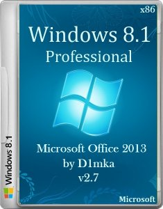 Windows 8.1 Pro & Microsoft Office 2013 by D1mka v2.7 (x86) (2014) �������
