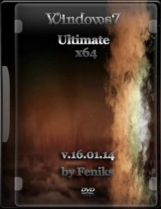 Windows 7 Ultimate by Feniks v.16.01.14 (x64) (2014) Русский