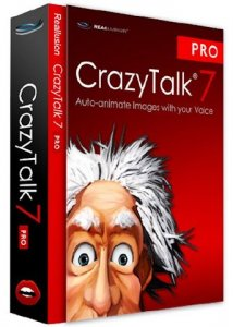 CrazyTalk 7.3.2215.1 Pro Retail + Custom Content Packs Repack by Kindly [En]