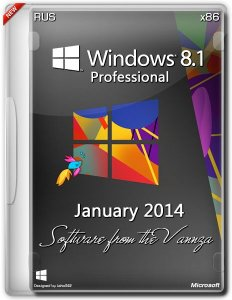 Windows 8.1 Pro January Software from the Vannza (х86) (2014) Русский