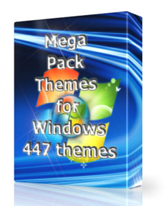 Mega Pack Themes 447 themes by UralSOFT (2014) Русский
