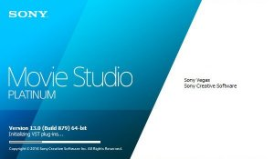 Sony Vegas Movie Studio Platinum 13.0 Build 879 (x64) RePack (& Portable) by D!akov [Ru/En]