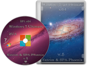 Windows 7 Ultimate SP1 by extrim (x64) (2014) Русский